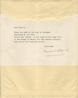 GILBERT ROLAND - TYPED LETTER SIGNED