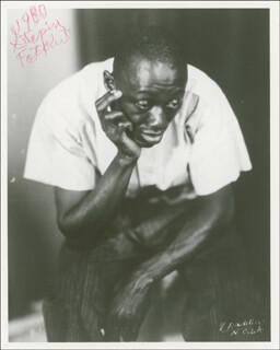 STEPIN FETCHIT - AUTOGRAPHED SIGNED PHOTOGRAPH 1980