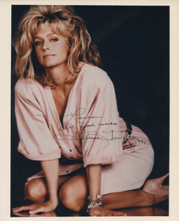 FARRAH FAWCETT - AUTOGRAPHED INSCRIBED PHOTOGRAPH 1991