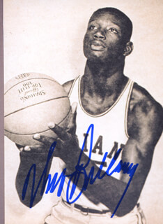 Autographs: WALT BELLAMY - PHOTOGRAPH SIGNED