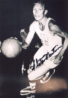SLATER DUGIE MARTIN - AUTOGRAPHED SIGNED PHOTOGRAPH