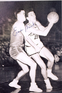 ERNIE BECK - AUTOGRAPHED SIGNED PHOTOGRAPH
