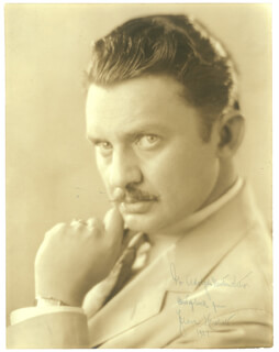 JEAN HERSHOLT - AUTOGRAPHED INSCRIBED PHOTOGRAPH 1927