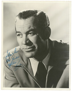 WARD BOND - AUTOGRAPHED INSCRIBED PHOTOGRAPH