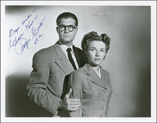 PHYLLIS COATES - AUTOGRAPHED SIGNED PHOTOGRAPH