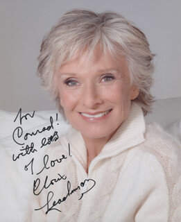 CLORIS LEACHMAN - AUTOGRAPHED INSCRIBED PHOTOGRAPH