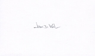 Autographs: JAMES D. WATSON - SIGNATURE(S)