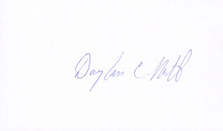 DOUGLASS C. NORTH - AUTOGRAPH