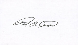 PAUL D. BOYER - AUTOGRAPH