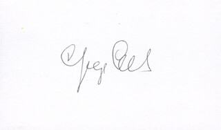 Autographs: GEORGE OLAH - SIGNATURE(S)