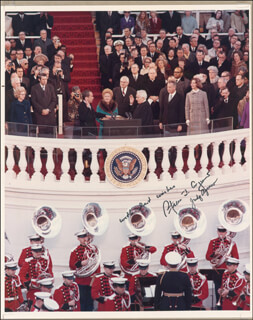 VICE PRESIDENT SPIRO T. AGNEW - AUTOGRAPHED SIGNED PHOTOGRAPH CO-SIGNED BY: JUDY (MRS. SPIRO) AGNEW