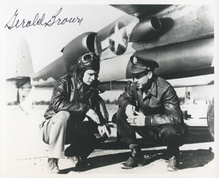 Autographs: COLONEL GERALD JERRY BROWN - PHOTOGRAPH SIGNED