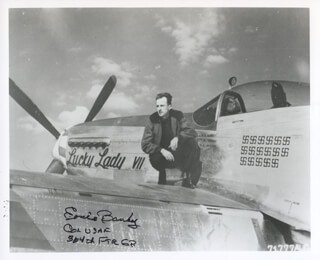 Autographs: COLONEL ERNEST E BANKEY, JR. - PHOTOGRAPH SIGNED