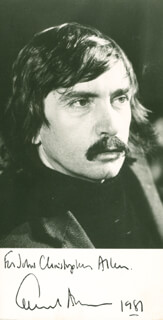 EDWARD ALBEE - AUTOGRAPHED INSCRIBED PHOTOGRAPH 1981