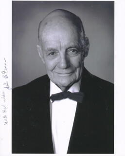 Autographs: JOHN B. FENN - PHOTOGRAPH SIGNED