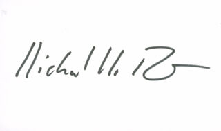 Autographs: RICHARD R. ERNST - SIGNATURE(S)