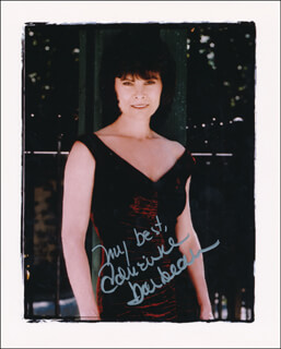 ADRIENNE BARBEAU - AUTOGRAPHED SIGNED PHOTOGRAPH