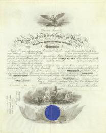 PRESIDENT THEODORE ROOSEVELT - NAVAL APPOINTMENT SIGNED 12/22/1908 CO-SIGNED BY: TRUMAN H. NEWBERRY