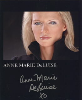 ANNE MARIE DELUISE - AUTOGRAPHED SIGNED PHOTOGRAPH