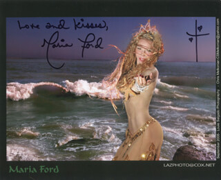 MARIA FORD - AUTOGRAPHED SIGNED PHOTOGRAPH