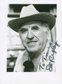 ED BEGLEY SR. - AUTOGRAPHED INSCRIBED PHOTOGRAPH
