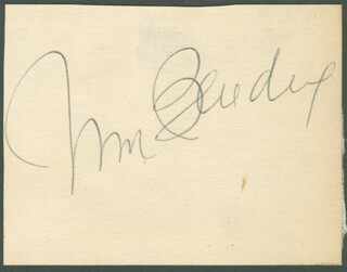 WILLIAM BENDIX - AUTOGRAPH