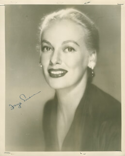 FAYE EMERSON ROOSEVELT - AUTOGRAPHED SIGNED PHOTOGRAPH