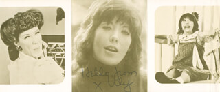 LILY TOMLIN - FLYER SIGNED