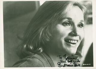 EVA MARIE SAINT - AUTOGRAPHED INSCRIBED PHOTOGRAPH