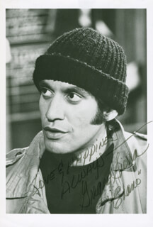 GREGORY SIERRA - AUTOGRAPHED SIGNED PHOTOGRAPH