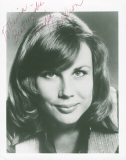 LINDA CARLSON - AUTOGRAPHED INSCRIBED PHOTOGRAPH