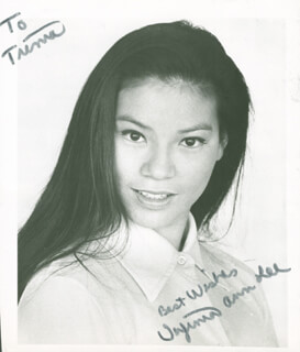 VIRGINIA ANN LEE - AUTOGRAPHED INSCRIBED PHOTOGRAPH