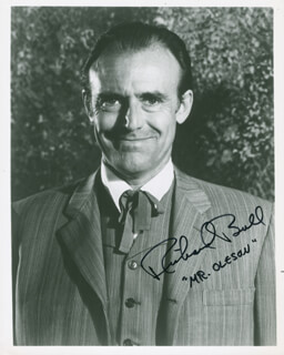 RICHARD BULL - AUTOGRAPHED SIGNED PHOTOGRAPH
