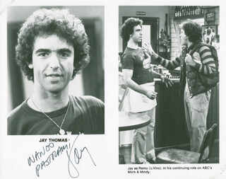 JAY THOMAS - AUTOGRAPHED SIGNED PHOTOGRAPH