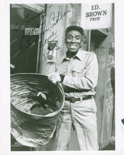 SCATMAN (BENJAMIN S.) CROTHERS - AUTOGRAPHED INSCRIBED PHOTOGRAPH 1972