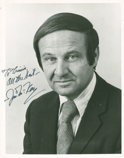 Autographs: JIM McKAY - INSCRIBED PHOTOGRAPH SIGNED