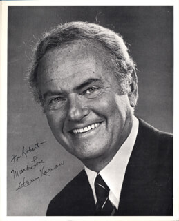 HARVEY KORMAN - AUTOGRAPHED INSCRIBED PHOTOGRAPH