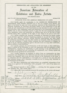 EMILY GETCHELL - DOCUMENT SIGNED 06/23/1953