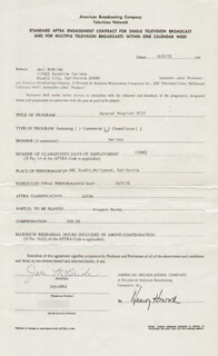 JERI MCBRIDE - CONTRACT SIGNED 10/02/1973