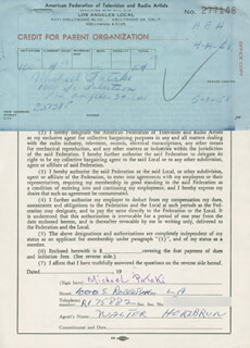 MICHAEL PATAKI - DOCUMENT SIGNED