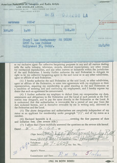 MARY LEE MONTGOMERY - DOCUMENT SIGNED BY A DEPUTY 05/06/1960