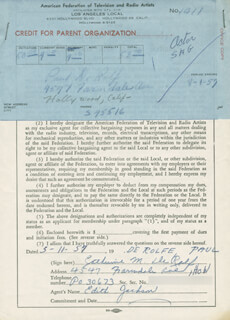 PAUL DE ROLF - DOCUMENT SIGNED BY A DEPUTY 05/11/1957
