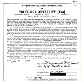 WILLIAM H. MCLEAN - DOCUMENT DOUBLE SIGNED 12/04/1951