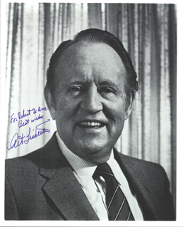 ART LINKLETTER - AUTOGRAPHED INSCRIBED PHOTOGRAPH