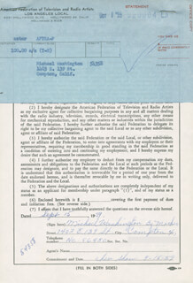 MICHAEL WASHINGTON - DOCUMENT SIGNED BY A DEPUTY 09/15/1959