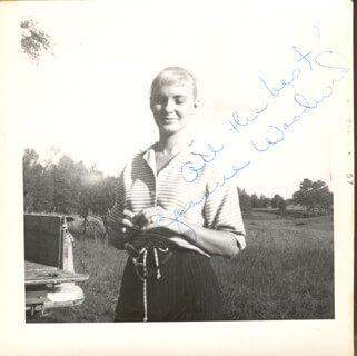 JOANNE WOODWARD - AUTOGRAPHED SIGNED PHOTOGRAPH CIRCA 1957