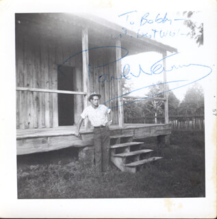 Autographs: PAUL NEWMAN - INSCRIBED PHOTOGRAPH SIGNED CIRCA 1957