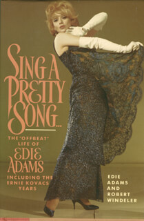 EDIE ADAMS - BOOK UNSIGNED