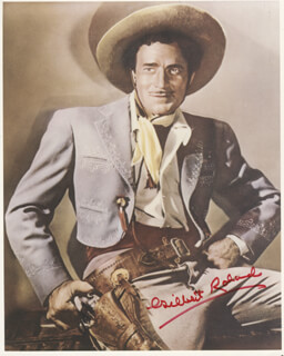 GILBERT ROLAND - AUTOGRAPHED SIGNED PHOTOGRAPH