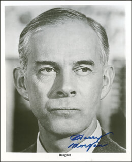 HARRY MORGAN - AUTOGRAPHED SIGNED PHOTOGRAPH